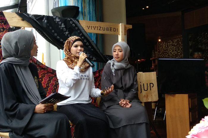 Sebagai Desainer, Ini Mimpi Besar Vivi Zubedi Terhadap Perkembangan Busana Modest Wear