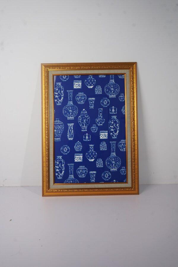 Vintage Ink Vases Frame (GOLD)