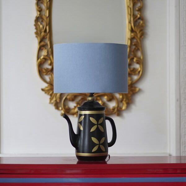 Vintage Teapot Lamp ( Sky Blue )