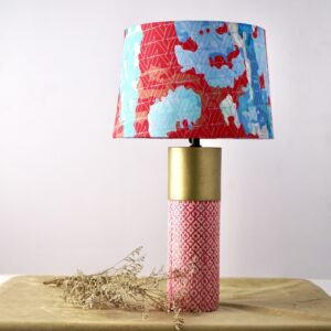 Cylinder Table Lamp (Mixed Color)