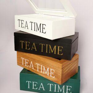 Wood Tea Chest