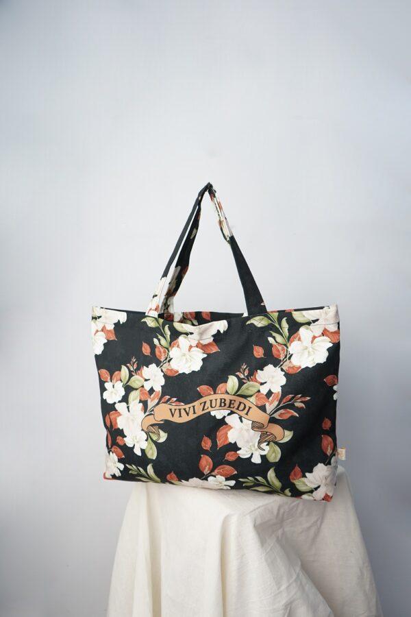 VZ Shopper Bag (Black - White)