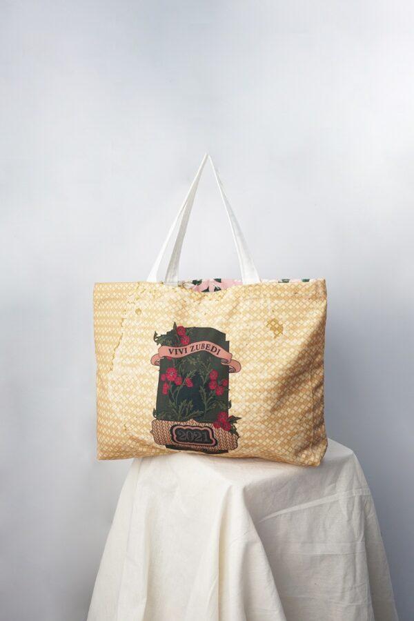 VZ Shopper Bag (Brown - Pink)